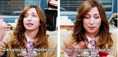 """She has no time for negative energy. 