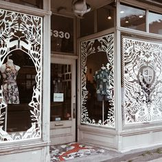 Yelena Bryksenkova's Beautiful Hand-Cut Window Display in Montreal