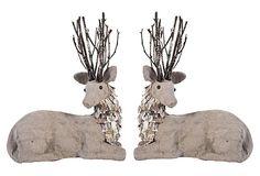 Sitting Deer, Asst. of 2 on OneKingsLane.com