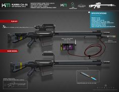 KAIMA CA-55 Anti-Material Rifle by FutureFavorite