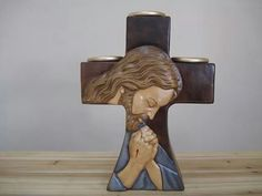 Biscuit, Ceramic Bisque, Lent, Creative Crafts, Gnomes, Jesus Christ, Polymer Clay, Carving, Ceramics