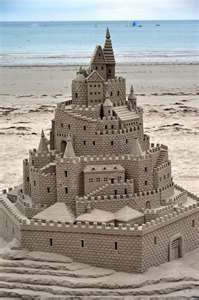 Build a Sand castle...wow