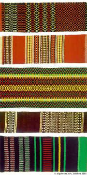 Wool weaving patterns from Alentejo Weaving Textiles, Textile Fabrics, Weaving Patterns, Cork Fabric, Fabric Rug, Algarve, History Of Portugal, Portuguese Culture, Arte Popular