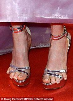 Small foot fuck