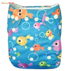 Cloth Baby diaper w/double row snaps with or without insert