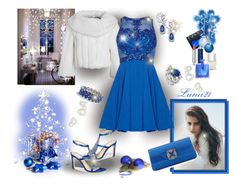 ready for Christmas David Tutera, Nails Inc, Dressy Outfits, Manolo Blahnik, Nars Cosmetics, Pretty Dresses, Christian Dior, Polyvore Fashion, Therapy