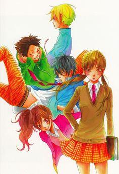 Robico, Brains Base, Tonari no Kaibutsu-kun, Tonari no Kaibutsu-kun - Robico Illustrations, Asako Natsume