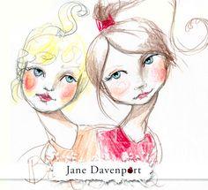 2: Colour Pencils Week - Supplies Me with Jane Davenport hair