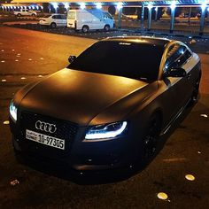 If Batman was an Audi owner, that was his car!