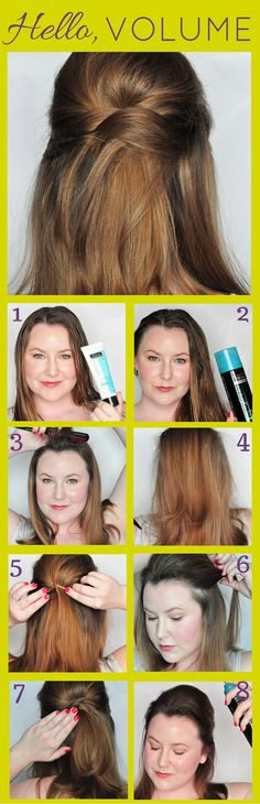 OMG! I've been searching for an easy half-up hairstyle with a lot of volume. My flat hair is hard to volumize. Gotta pick up this TRESemmé Beauty-Full Volume Collection. AD #ReverseYourRoutine #IC