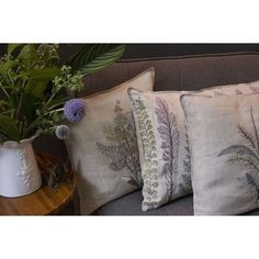 Coral and Tusk - plants long pillow