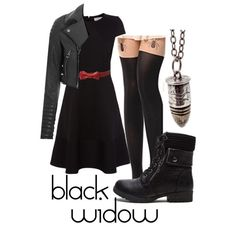 Black Widow by katwhisky on Polyvore