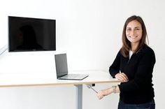 height adjustable desk $490 Tradme
