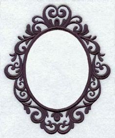 Filigree Monogram Frame