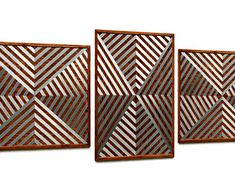 MetalDiorama & WoodArt by MetalDioramaWoodArt on Etsy Modern Wall Art, Wood Wall Art, Geometric Wall, Bedroom Wall, Etsy Seller, Wall Decor, Unique Jewelry, Creative, Handmade Gifts