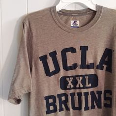 UCLA shirt Great condition! Go Bruins!  Got this in LA but I never wear it. Small. Really soft material. russel  Tops Tees - Short Sleeve