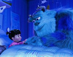 Boo and Sully - Monsters Inc.