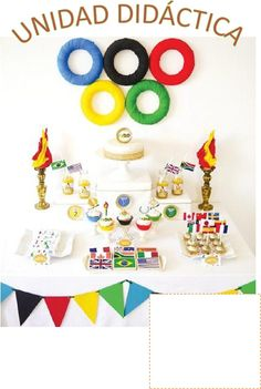 """Whether you're hosting a sports-themed birthday party or planning a kid-friendly Olympics viewing celebration, this """"Going For Gold"""" bash has everything you need. Even better, it's DIY friendly."""
