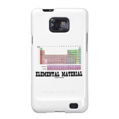 Periodic table game guess who style now i am just searching elemental material periodic table of elements samsung galaxy sii cases urtaz Images
