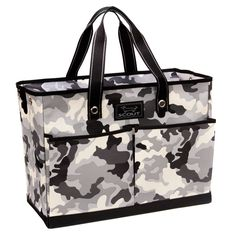 SCOUT The BJ Bag, Sgt. Pepper. Stash things on-the-go with ease thanks to the SCOUT BJ Bag Multi-Pocket Zip-Top Tote. A universally-recognized pattern, camouflage carries many connotations. The Sgt. Pepper camo pattern is both seasonless and unisex, fashion-forward and versatile. Fun fact: The SCOUT collection hasn't featured a camo print in nearly five years!. Organize to your liking with 2 pleated pockets on the front and 2 flat pockets on the back to offer plenty of storage space....