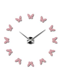 Trendy Wall Clock - EINARI Reference:  12S001-RAL3015-S-COLOR** Condition:  New product  Availability:  In Stock  Choose a color by yourself! The time has come much more cozy realít new clock. 3D large wall clock is a beautiful decoration of your interior. You'll never be late.