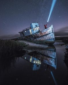Awesome Moody Travel Landscapes and Nightscapes by Nick Santos Use this for photoshop practice since I have the same phot from the same angle of this boat Photoshop For Photographers, Photoshop Photography, Landscape Photography, Nature Photography, Travel Photography, Photoshop Actions, Photography Magazine, Photography Tips, Lake Pictures