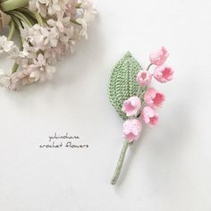 Crochet Jewelry Patterns, Knitting Patterns, Sewing Patterns, Crochet Flowers, Crochet Lace, Crochet Brooch, Handmade Flowers, Needle Felting, Miniatures