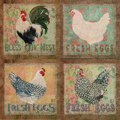 Image of Art Prints: Fresh Eggs Series