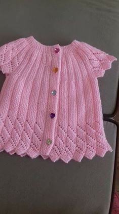Bebek Yelekleri Knitted Pink Vest About Albums Along with a very rich album option, all requests are meticulously evaluated with the servi. Crochet Baby Sweaters, Baby Sweater Knitting Pattern, Crochet Vest Pattern, Baby Knitting Patterns, Baby Patterns, Crochet Clothes, Baby Vest, Albums, Tricot