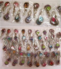 Hippie Native Peruvian Style Jasper stone earrings with stones Southwestern bohemian Ready to Ship