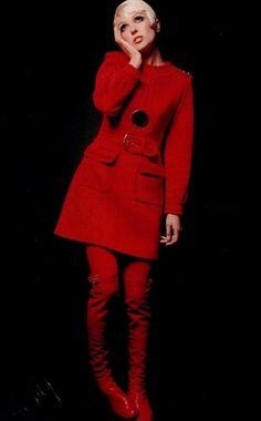 Fashion by Louis Feraud, 1968.