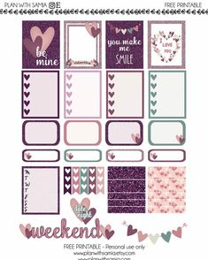 FREE PRINTABLE  Free printable for valentine is up on the blog: planwithsamia.com  #erincondrenstickers #erincondren  #eclifeplanner #erincondrenverticallayout #eclp #weloveec #llamalove #pgw #plannergirl #planneraddict #plannercommunity #plannerstickers #Planner #planning #planners #plannerstickers #agenda #plannerdecor #plannernerd #plannerlove #plannerclips #freebie #freeprintable #freeprintablestickers