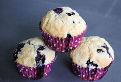 Hello! Jen from Lemon Drop Love here. Today I'm delighted to share a recipe for blueberry muffins. My two favorite muffins on the planet are lemon poppyseed and blueberry. And since I shared a lemon-b
