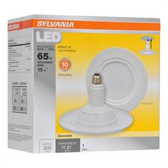 Sylvania Led 65 W Equivalent Dimmable Soft White Br30 LED Flood Light Bulb