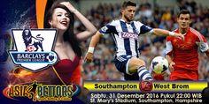 Prediksi Southampton vs West Brom, Prediksi Bola Southampton vs West Bromwich, Southampton vs West Bromwich Albion akan bertemu di partai lanjutan Liga Primer Inggris yang rencananya akan digelar pada hari Sabtu, 31 Desember 2016 Pukul 22:00 WIB dan disiarkan secara live dari St. Mary's Stadium, Southampton, Hampshire.