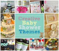 10 Creative Baby Shower Theme Ideas    love the cupcake theme for a girl