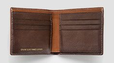 Coach wallet made out of baseball glove leather. Must have it.