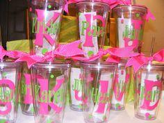 Personalized Tumblers w/Straw BPA Free Birthday, Teacher,