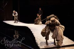 Waiting for Godot. Stratford Festival. Scenic design by Teresa Przybylski.