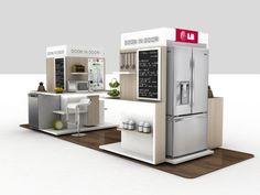 Appliances Logo Design - Cafe Appliances Kitchens - Home Appliances Concept - - Cooking Appliances For College - Display Design, Booth Design, Store Design, Pop Display, Kitchen Aid Appliances, Vintage Appliances, Cooking Appliances, Electrical Stores, Home Appliance Store