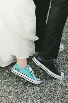 Something Blue on Your Wedding Shoe!