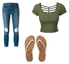 """""""Untitled #108"""" by tia12502 on Polyvore featuring LE3NO, J Brand and Aéropostale"""
