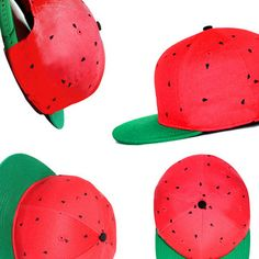 Watermelon Hat by Watermelonmouse // erm, a melon for your melon? :)