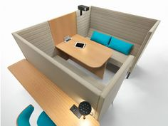 Isola ufficio WORKSHAKER by Giulio Marelli Italia design Jérôme Gauthier Commercial Furniture, Stripes, Toys, Gallery, Design, Offices, Future, Italy, New Trends