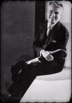 Taken by Edward Steichen - Charlie Chaplin 1931