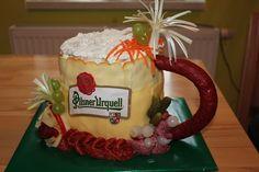 Sandwich Cake, Sandwiches, Salty Foods, Food Art, Menu, Desserts, Gifts, Icebox Pie, Pastries