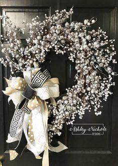 Crabapple Berry-Silver-Winter – AshleyNichole Designs