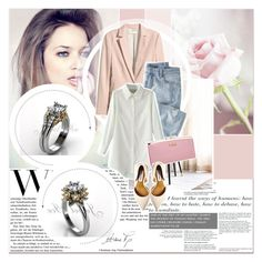 """""""# II/4 Jewelice"""" by lucky-1990 ❤ liked on Polyvore featuring мода, H&M, Wrap и Steve Madden"""