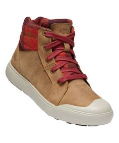 KEEN Thrush Plaid Elena Mid Insulated Sneaker Boot - Women | Zulily