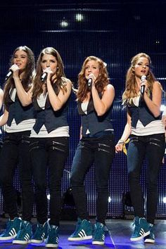 Who run the world? Barden Bellas! Get a look at their final performance in Pitch Perfect 2